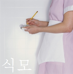 おてつだいさんを韓国語で식모【食母】という。お手伝いさん、家政婦とも言うそうです。