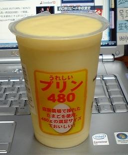うれしいプリン480