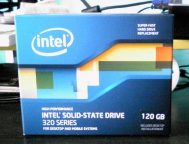 インテル 320 Series SSDSA2CW120G3K5