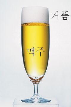 (ビールの)泡