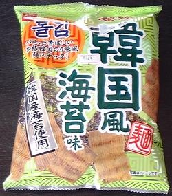 ベビースター 韓国風海苔味