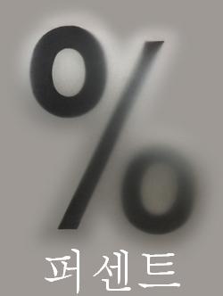 パーセント(%)
